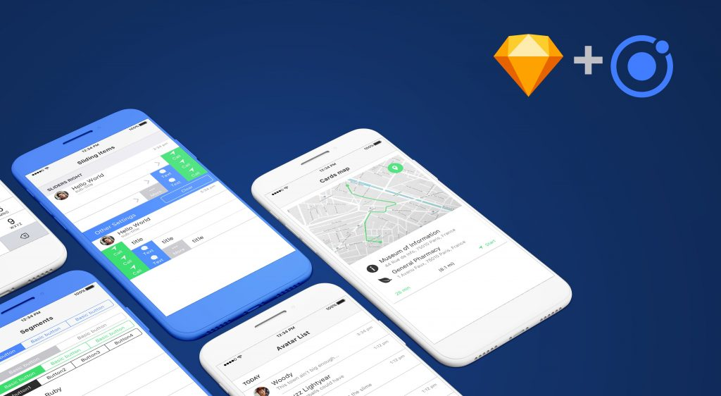 Sketch+Ionic | TryFirst nl